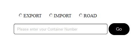 Tracking page of Gatewayrail